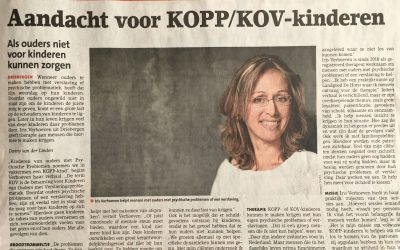krantenartikel de Stichtse Courant: Aandacht voor volwassen KOPP/KOV